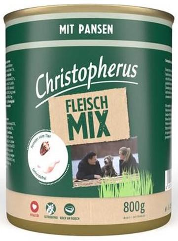 Christopherus Fleischmix mit Pansen 800 g