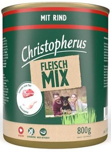 Christopherus Fleischmix mit Rind 6 x 800 g