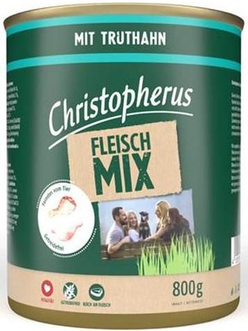 Christopherus Fleischmix mit Truthahn 800 g
