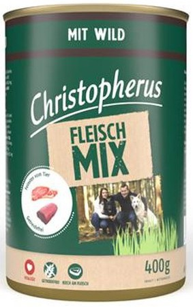 Christopherus Fleischmix mit Wild 400 g