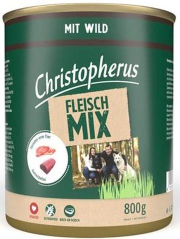 Christopherus Fleischmix mit Wild 6 x 800 g