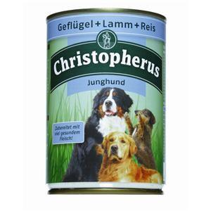Christopherus Junghund Dose 400 g