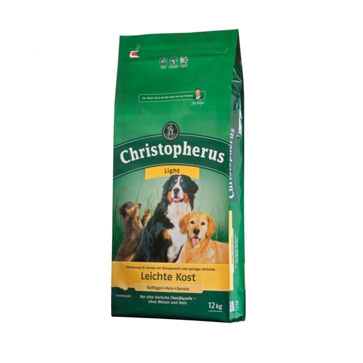 Christopherus Leichte Kost mit Geflügel, Reis und Gerste 2 x 12 kg (Staffelpreis)