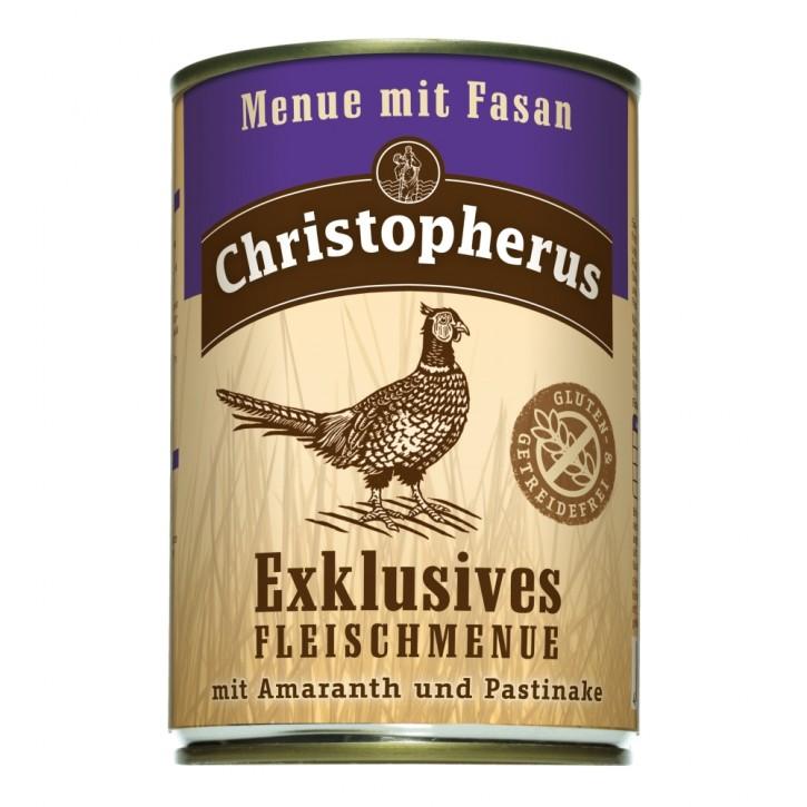 Christopherus Menü mit Fasan Dose 400 g
