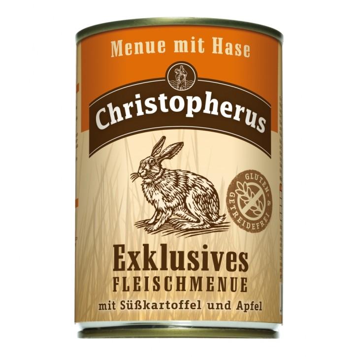 Christopherus Menü mit Hase Dose 400 g