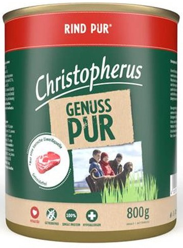 Christopherus Rind PUR 800 g