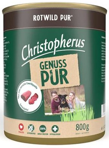 Christopherus Rotwild PUR 800 g