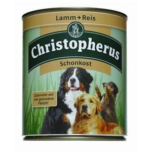 Christopherus Schonkost Lamm und Reis Dose 800 g