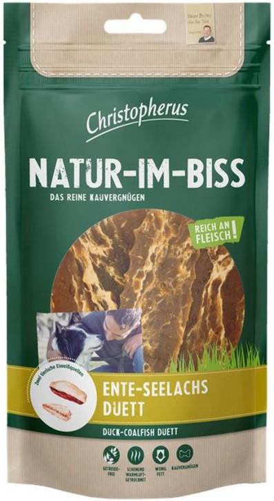 Christopherus Snack Natur im Biss Ente Seelachs Duett 12 x 70 g