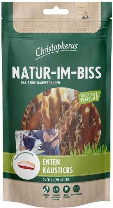 Christopherus Snack Natur im Biss Enten Kausticks 12 x 70 g