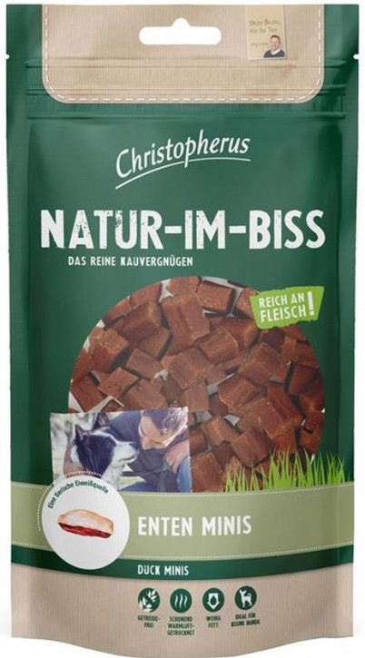 Christopherus Snack Natur im Biss Enten Minis 12 x 70 g