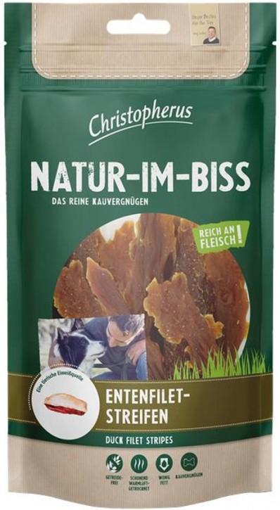 Christopherus Snack Natur im Biss Entenfiletstreifen 12 x 70 g