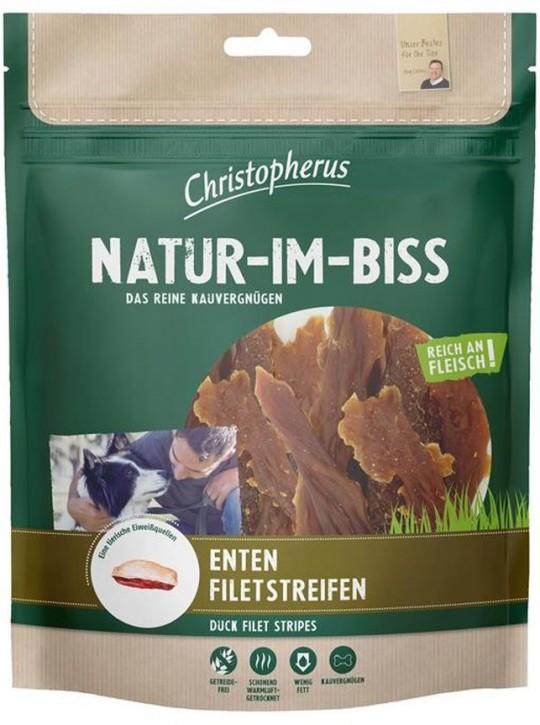 Christopherus Snack Natur im Biss Entenfiletstreifen 5 x 300 g