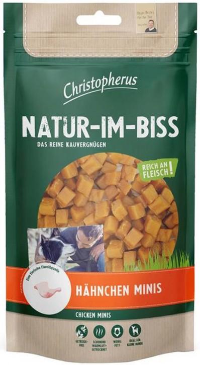 Christopherus Snack Natur im Biss Hähnchen Minis 12 x 70 g