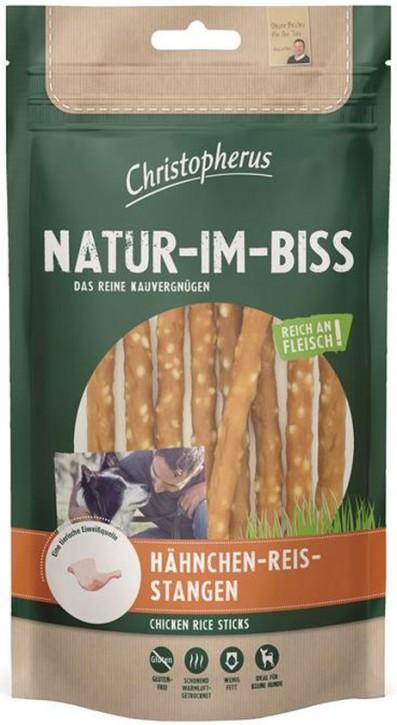 Christopherus Snack Natur im Biss Hähnchen Reis Stangen 12 x 70 g