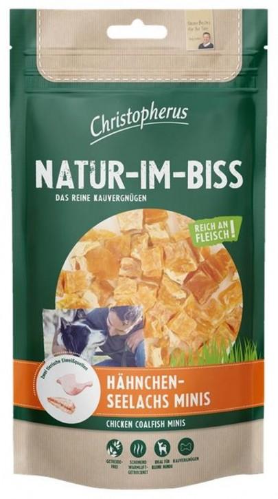 Christopherus Snack Natur im Biss Hähnchen Seelachs Minis 12 x 70 g