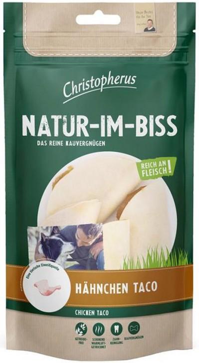 Christopherus Snack Natur im Biss Hähnchen Taco 12 x 70 g