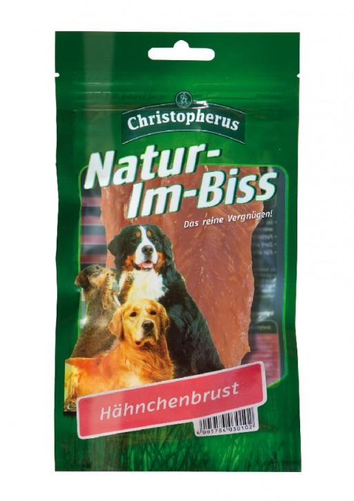 Christopherus Snack Natur im Biss Hähnchenbrust 12 x 70 g