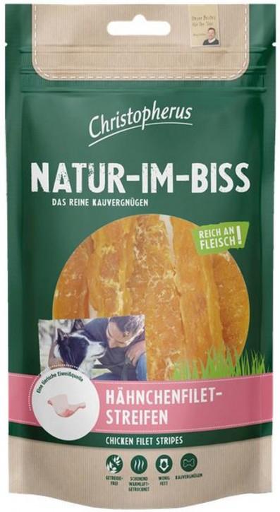 Christopherus Snack Natur im Biss Hähnchenfiletstreifen 12 x 70 g