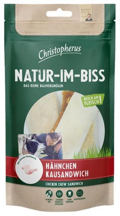 Christopherus Snack Natur im Biss Hähnchen Kausandwich 12 x 70 g