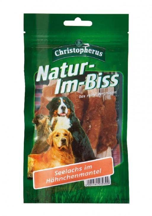 Christopherus Snack Natur im Biss Seelachs im Hähnchenmantel 12 x 70 g
