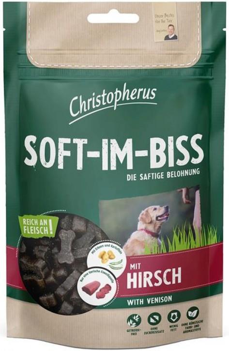 Christopherus Soft Im Biss mit Hirsch 12 x 125 g