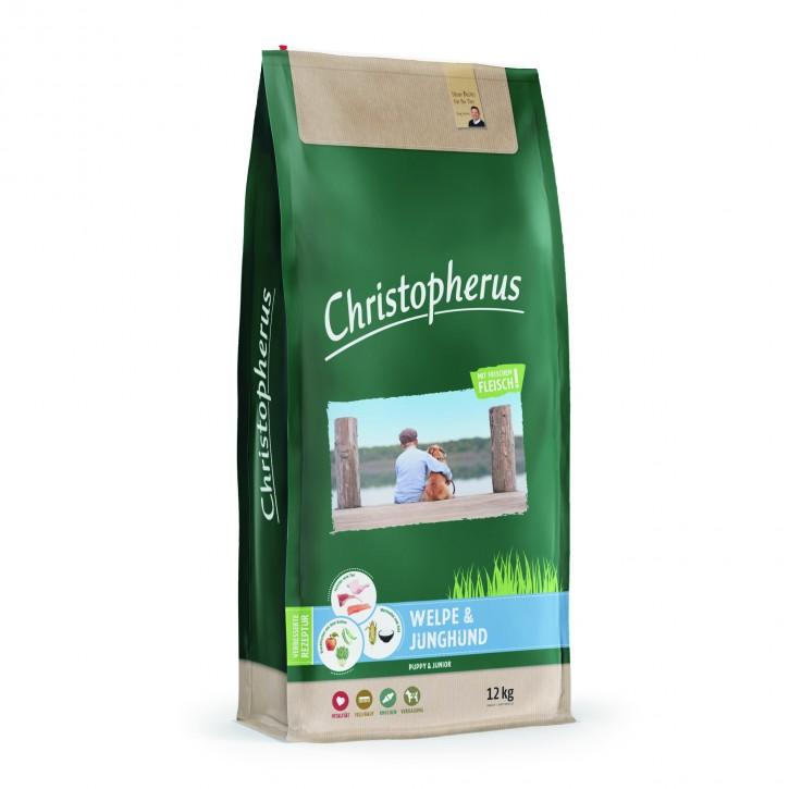 Christopherus Welpe & Junghund 4 kg oder 12 kg (SPARTIPP: unsere Staffelpreise)