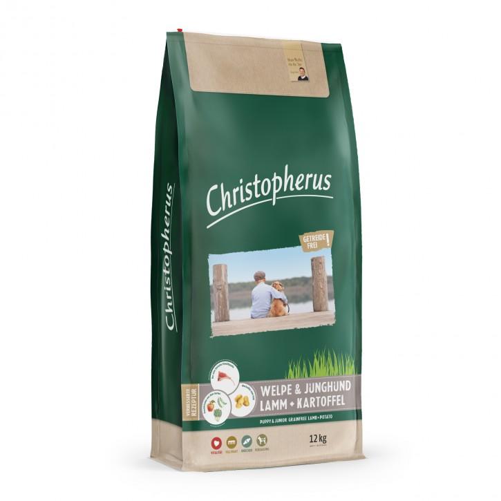 Christopherus Welpe & Junghund Lamm & Kartoffel 4 kg oder 12 kg (SPARTIPP: unsere Staffelpreise)