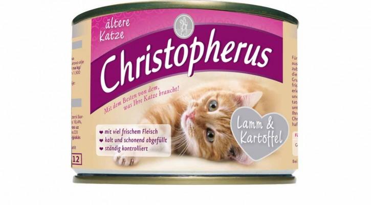 Christopherus für die ältere Katze Lamm & Kartoffel Dose 200 g