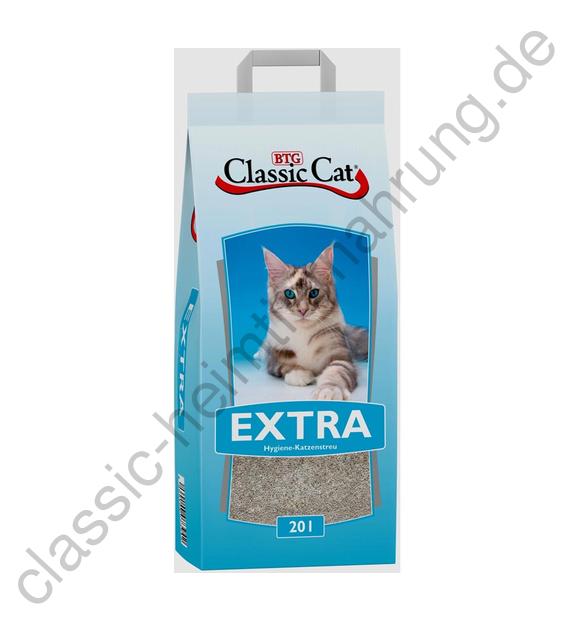 Classic Cat Katzenstreu Extra Attapulgit 20 L