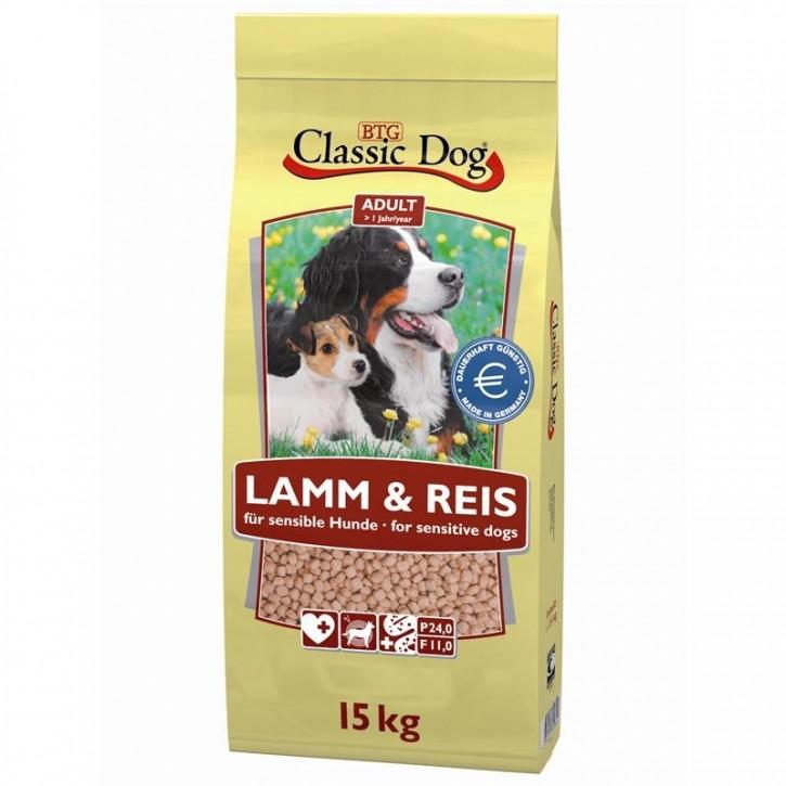 Classic Dog Lamm und Reis 15 kg (SPARTIPP: unsere Staffelpreise)