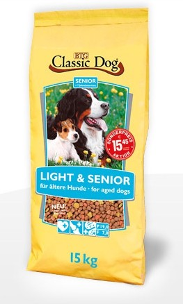 Classic Dog Light & Senior 15 kg (SPARTIPP: unsere Staffelpreise)
