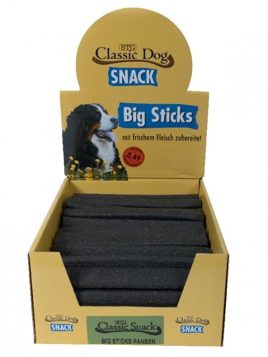 Classic Dog Snack Big Sticks Pansen 50 Stück