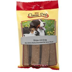 Classic Dog Snack Strips Ente 14 x 20 Stück