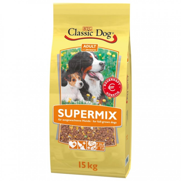 Classic Dog Supermix 2 x 15 kg (Staffelpreis)