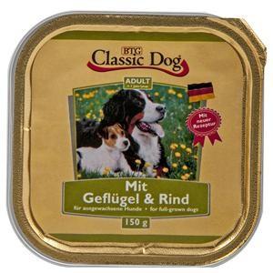 Classic Dog mit Geflügel und Rind 20 x 150 g