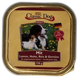 Classic Dog mit Lamm, Huhn, Reis und Gemüse 20 x 150 g