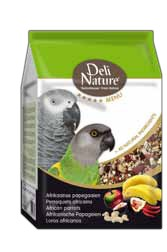 Deli Nature 5 Sterne Afrikanische Papageien 5 x 800 g oder 2,5 kg