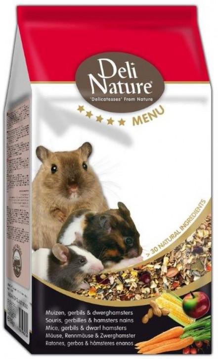 Deli Nature 5 Sterne Menu Mäuse, Rennmäuse und (Zwerg)Hamster 5 x 750 g