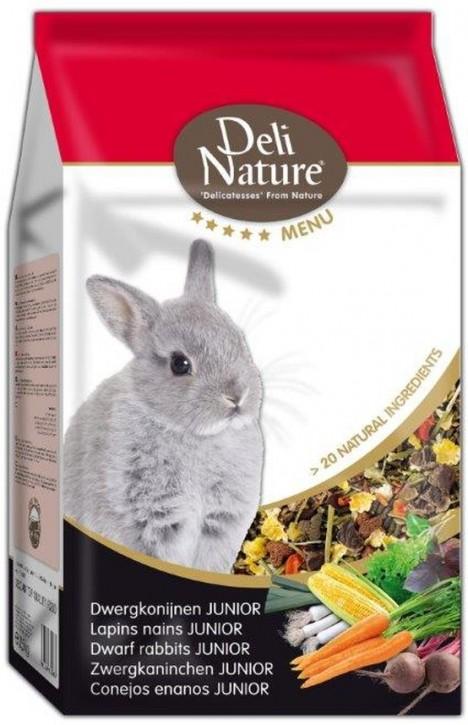 Deli Nature 5 Sterne Menu Zwergkaninchen Junior 2,5 kg (SPARTIPP: unsere Staffelpreise)