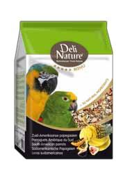Deli Nature 5 Sterne Südamerikanische Papageien 5 x 800 g oder 2,5 kg