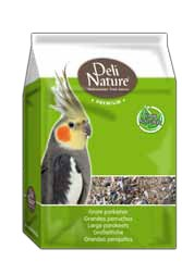 Deli Nature Großsittich Premium 5 x 1 kg oder 4 kg