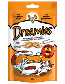 Dreamies Cat mit Huhn 6 x 60 g
