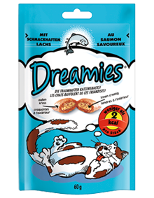 Dreamies Cat mit Lachs 6 x 60 g