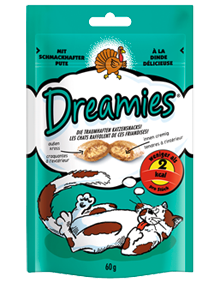 Dreamies Cat mit Pute 6 x 60 g