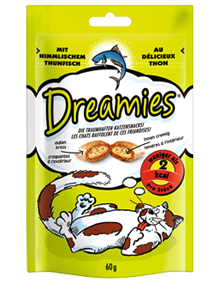 Dreamies Cat mit Thunfisch 6 x 60 g