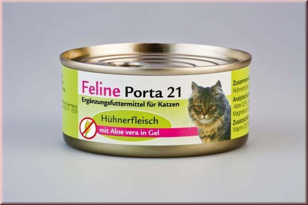 Feline Porta 21 Hühnerfleisch mit Aloe 90 g, 156 g oder 400 g
