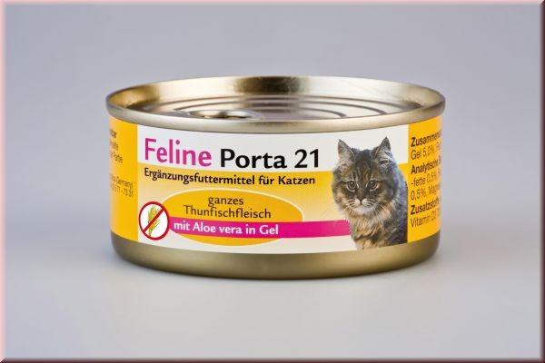 Feline Porta 21 Thunfisch mit Aloe 90 g, 156 g oder 400 g