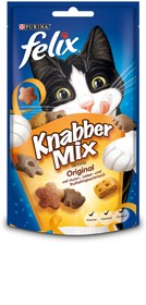 Felix Knabber Mix Original 8 x 60 g