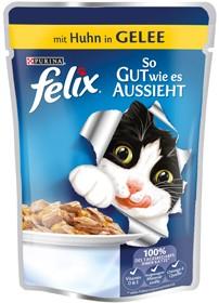 Felix So gut wie es aussieht mit Huhn in Gelee 20 x 100 g